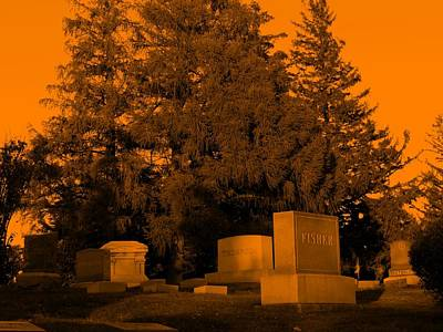 Photograph - Orange For Halloween by Kyle West