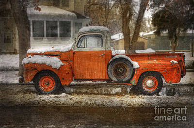 Photograph - Orange Ford 150 by Craig J Satterlee