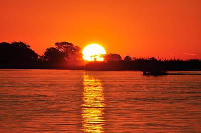 Photograph - Orange Glow by Joe  Burns