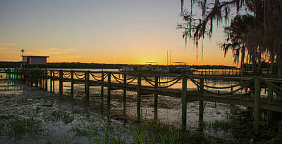Photograph - Florida - St Johns River Sunset by John Black