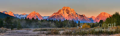 Photograph - Orange Glow On The Way To Oxbow by Adam Jewell