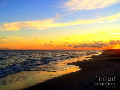 Photograph - Orange Glow Sunset by Shelia Kempf