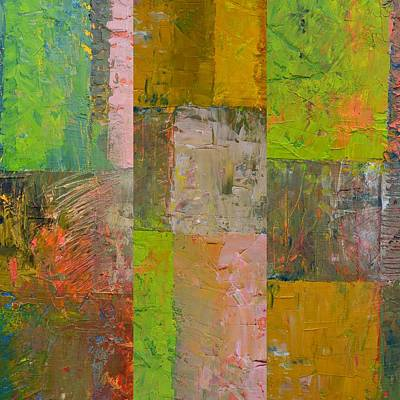 Painting - Orange Green And Grey by Michelle Calkins