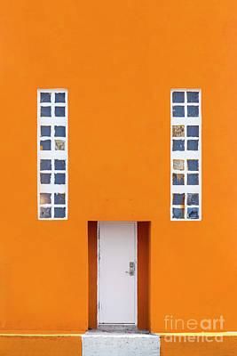 Photograph - Orange Happy by Evelina Kremsdorf
