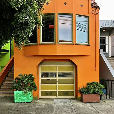Photograph - Orange House by Julie Gebhardt