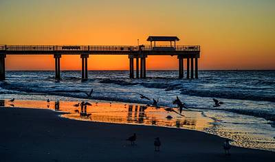 Photograph - Orange In The Morning In Orange Beach by Michael Thomas