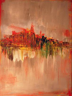Painting - Orange by Lilliana Didovic