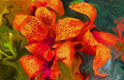 Orange Lily Original