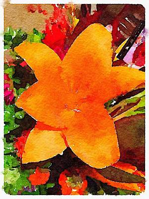 Giuseppe Cristiano - Orange Lily by Shannon Grissom