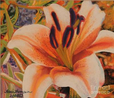 Painting - Orange Lily by Terri Thompson