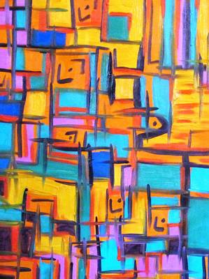 Alfredo Llana Painting - Orange Martini On A Sunday Night by Alfredo Dane Llana