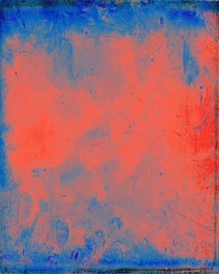 Layered Digital Painting - Orange Obsession by Julie Niemela