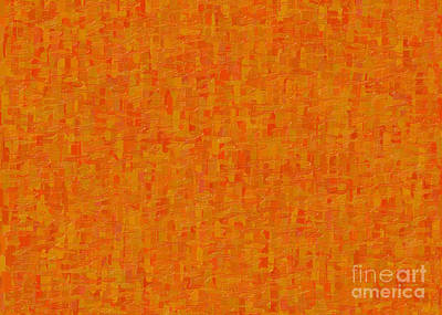 Painting - Orange Origins Abstract Organic Art By Omaste Witkowski by Omaste Witkowski
