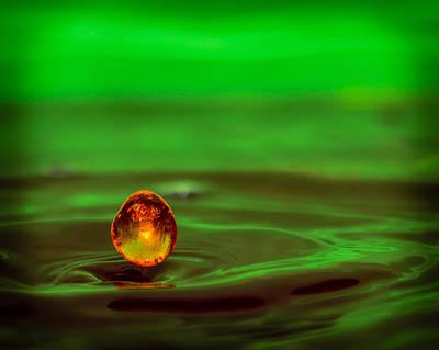 Thomas Kinkade Rights Managed Images - Orange Pearl Royalty-Free Image by VItalijs Krajevs