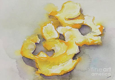 Painting - Orange Peel by Yoshiko Mishina