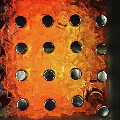 Pop Art Wall Art - Photograph - Orange Pop! #orange #pop #sodapop by Ginger Oppenheimer