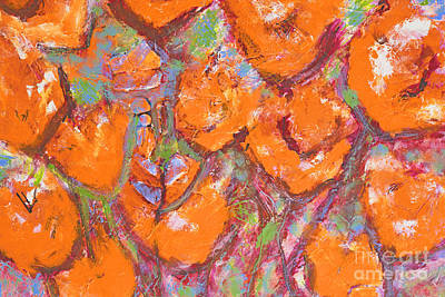 Painting - Orange Poppies by Gallery Messina