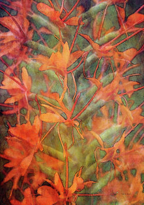 Photograph - Orange Reiteration 4700 Idp_2 by Steven Ward