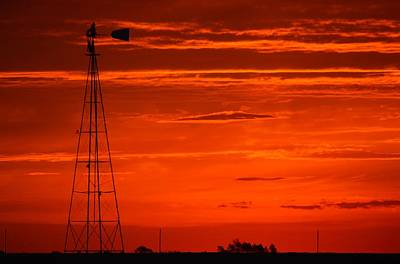 Photograph - Orange Rise by Bonfire Photography