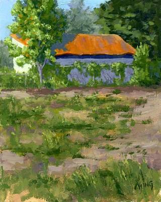 Utah Painting - Orange Roof by David King