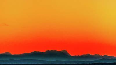 Photograph - Orange Sky by Holger Debek