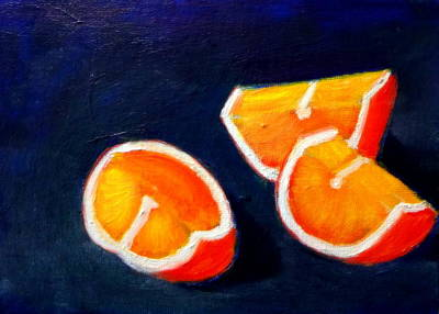 Painting - Orange Slices by Katy Hawk