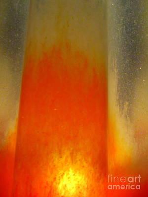 Photograph - Orange Splash by Randall Weidner
