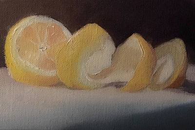 Painting - Orange Stilllife  by Michele Carter