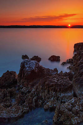 Photograph - Orange Sunrise by Davor Zerjav