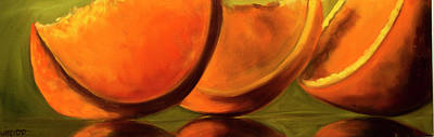 Painting - Orange Three by Diane Whitehead