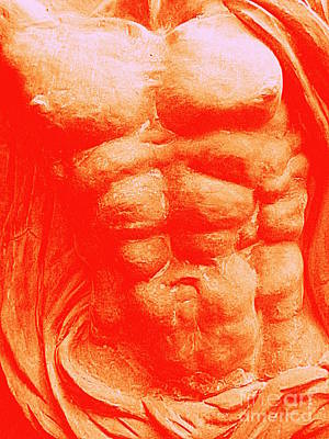 Photograph - Orange Torso by Randall Weidner