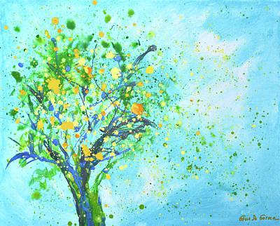Painting - Orange Tree by Gina De Gorna
