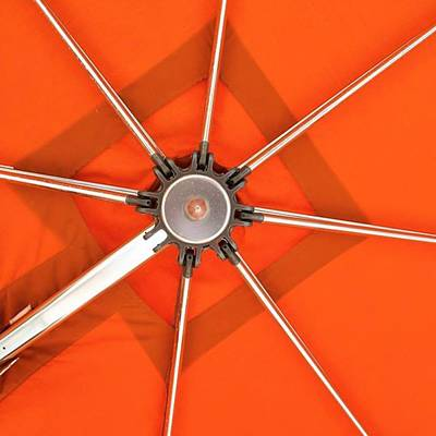 Orange Umbrella #photography Art Print