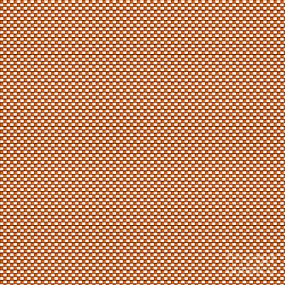 Digital Art - Orange Weave by Susan Stevenson