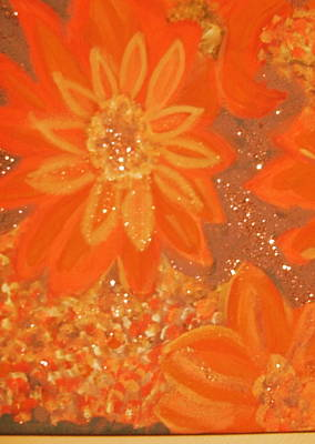 Orange You Glad You Like Orange Print by Anne-Elizabeth Whiteway