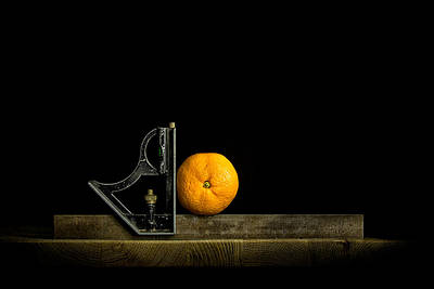 Oranges Ain't Square Print by Nigel R Bell