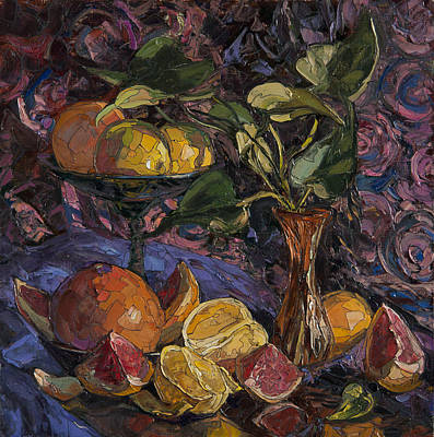 Oranges And Grapefruits Original by Sergey Sovkov
