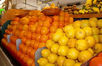 Photograph - Oranges And Lemons by Michiale Schneider