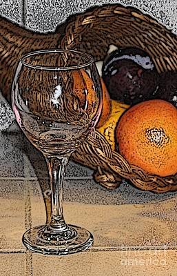 Photograph - Oranges And Plums by Terri Thompson