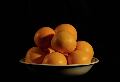 Photograph - Oranges by Angie Tirado