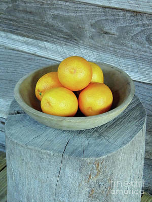 Photograph - Oranges by D Hackett