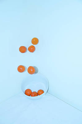 Photograph - Oranges by Gregory Moon