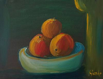 Painting - Oranges In A Bowl  by Steve Jorde