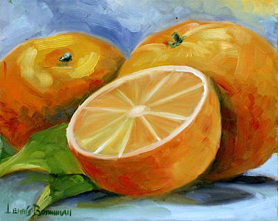 Painting - Oranges by Lewis Bowman