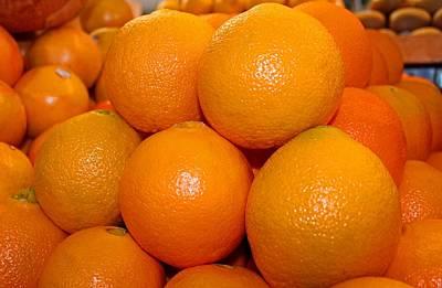 Photograph - Oranges by Michiale Schneider