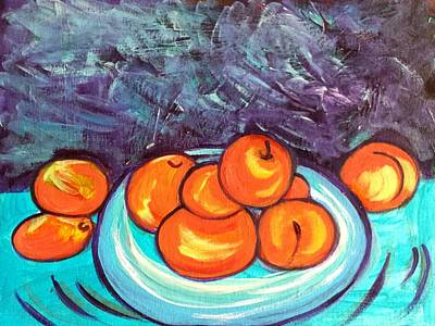 Painting - Oranges by Nikki Dalton