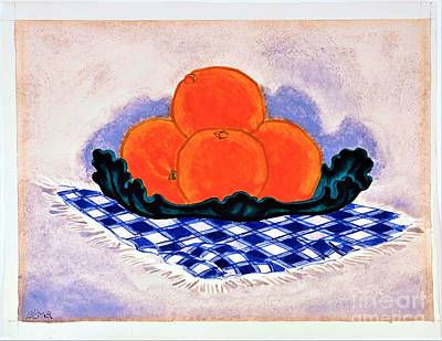 Painting - Oranges by Pg Reproductions