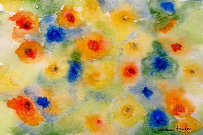 Painting - Oranges Yellows And Blues by Jamie Frier