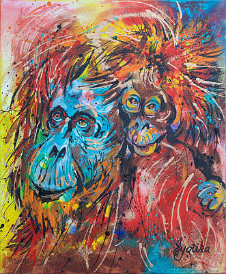 Orangutan Joyful Ride  Original
