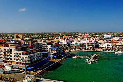Oranjestad Aruba Art Print